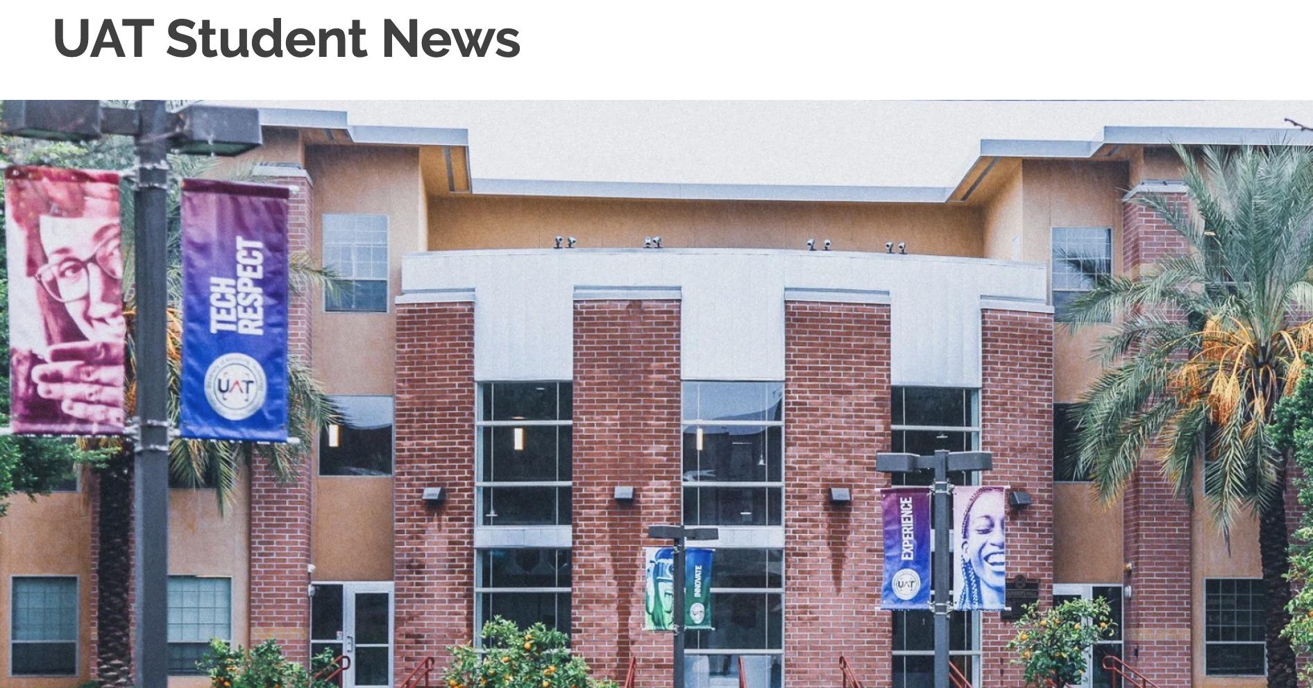 UAT Student News