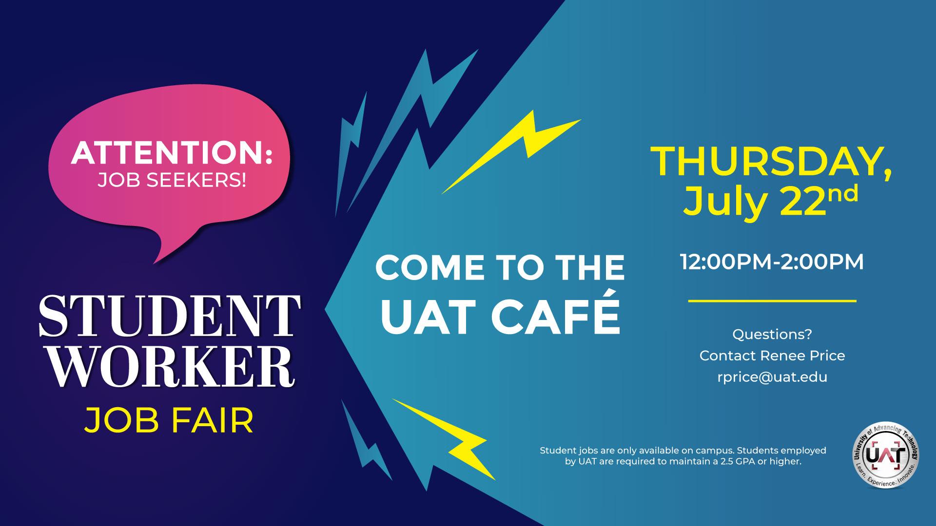 UAT Student Job Fair