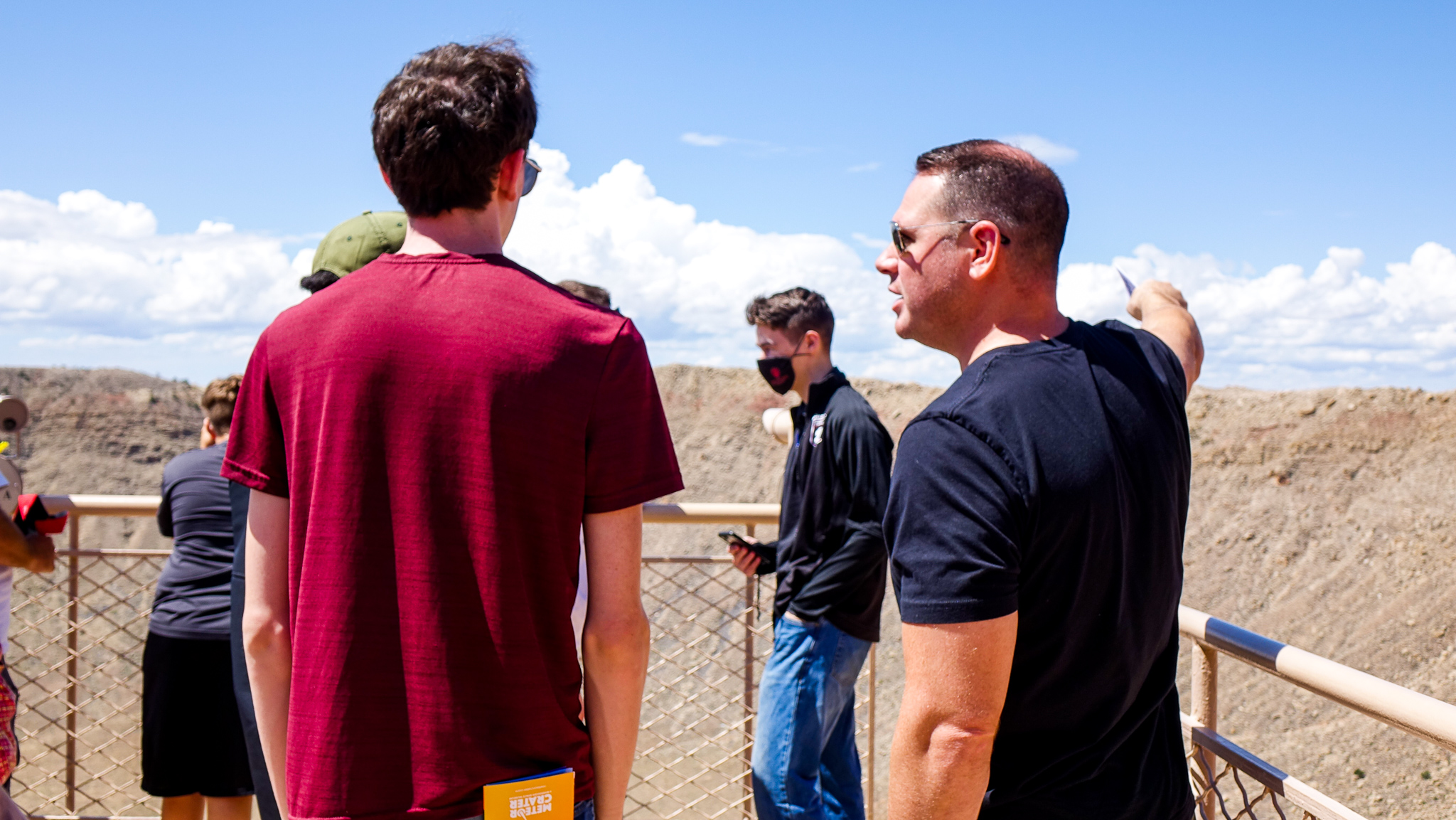 Meteor Crater Visitor Center is one of the most popular attractions in Northern Arizona